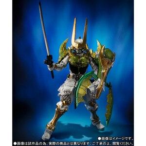 "Image 5 - BANDAI Tamashii Nazioni SIC SUPER FANTASIOSO CHOGOKIN Esclusivo Action Figure Kamen Rider Zangetsu Melone Braccia da ""Gaim"""