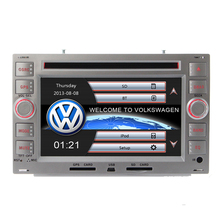 Original VW UI Car DVD Player GPS Navigation For Skoda Superb VW Transporter T5  PASSAT B5 Golf 4 Polo Bora Jetta Sharan Silver
