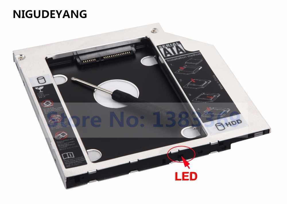 NIGUDEYANG 2nd HDD SSD DISCO Rígido Caddy para Acer Aspire E15 E5-575G E14 E5-411G E5-771G E5-574 E5-574G E5-774G E5-772G GUE1N