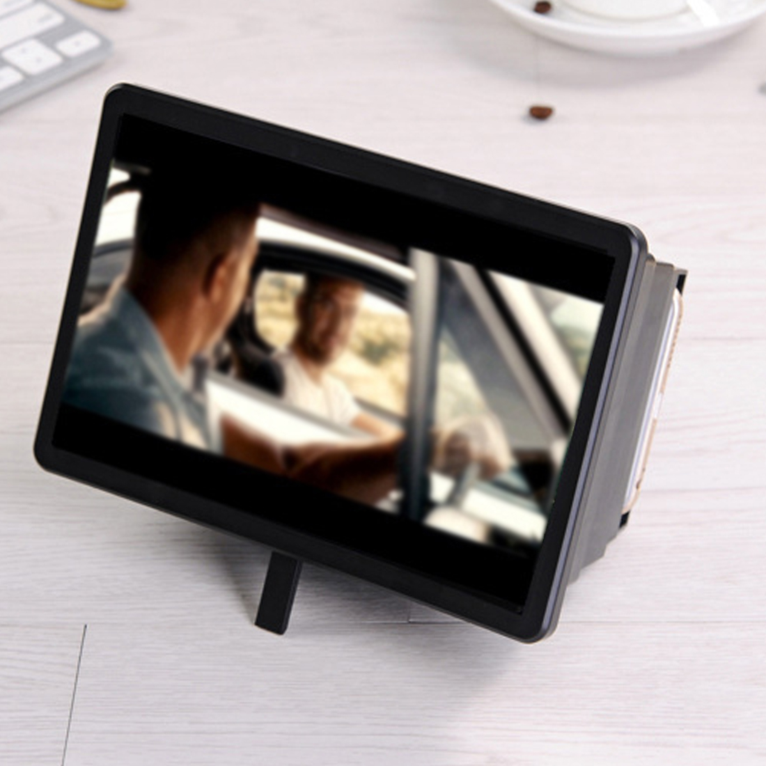 Best Quality 3D HD Movie Video Amplifier With Foldable Holder Stand Cell Phone Screen Magnifier