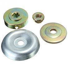4 шт./пакет Запасные детали для замены металлического редуктора лезвие гайка крепления комплект для косилка кусторез