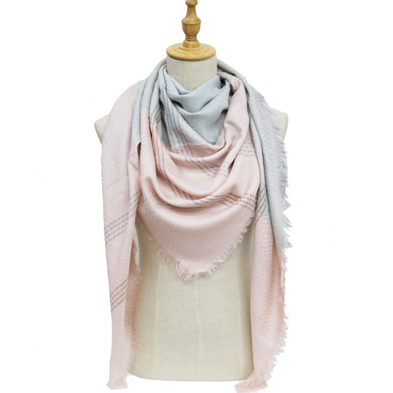 b09783bf8 2018 new winter women fashion Cotton square scarf hijab scarfs big stoles  scarves femme for ladies Shawl long shawls and wraps -in Scarves from  Women s ...