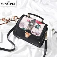 YINGPEI женская сумка, сумка через плечо, сумки с верхней ручкой, женские дизайнерские сумки-мессенджеры, модные женские сумки