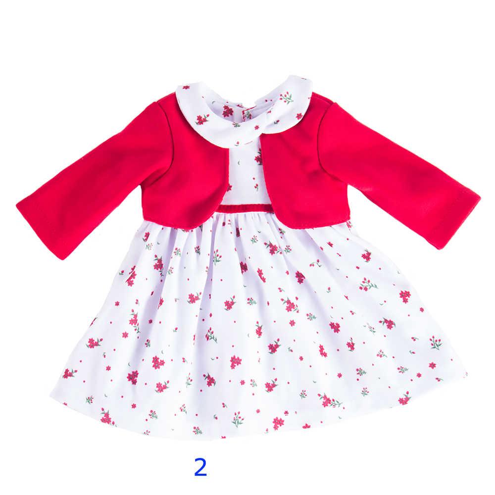 18 сапоги с меховой отделкой для девочек одежда американский костюм Единорога 3 цвета кружевная юбка ручной работы платье аксессуары подходит 43 см кукла для малышей c746