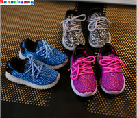 Colorful Lighted Children Shoes LED Lovely Cool New Brand Cool Kids Sneakers Casual Baby Boys Girls
