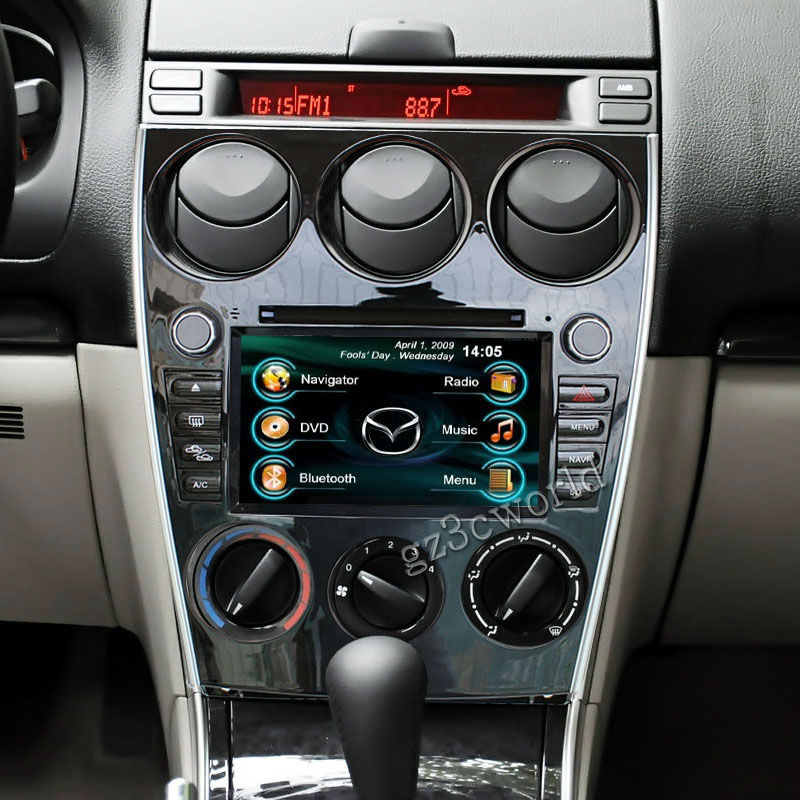 Radio Dvd Gps Navigation Headunit Stereo For 2006 2007 2008 Mazda 6 Rhaliexpress: 2006 Mazda 6 With Touch Screen Radio At Gmaili.net