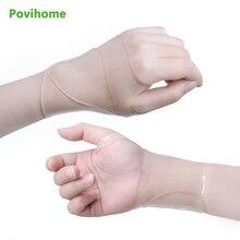 1pair 손목 지원 슬리브는 손목 보호대 C1500에서 손목 및 엄지 관절 이완 손의 통증 및 마비를 방지합니다.