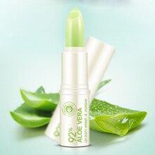 1PC Moisture Lip Balm Long Lasting lipstick Aloe Nonstick Cup Balm Anti Aging Makeup Lip Care