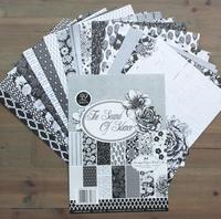 New Arrival DIY Photo Album Scrapbooking Decorative Papers Flower Design 6in X 6in Two Side Printed