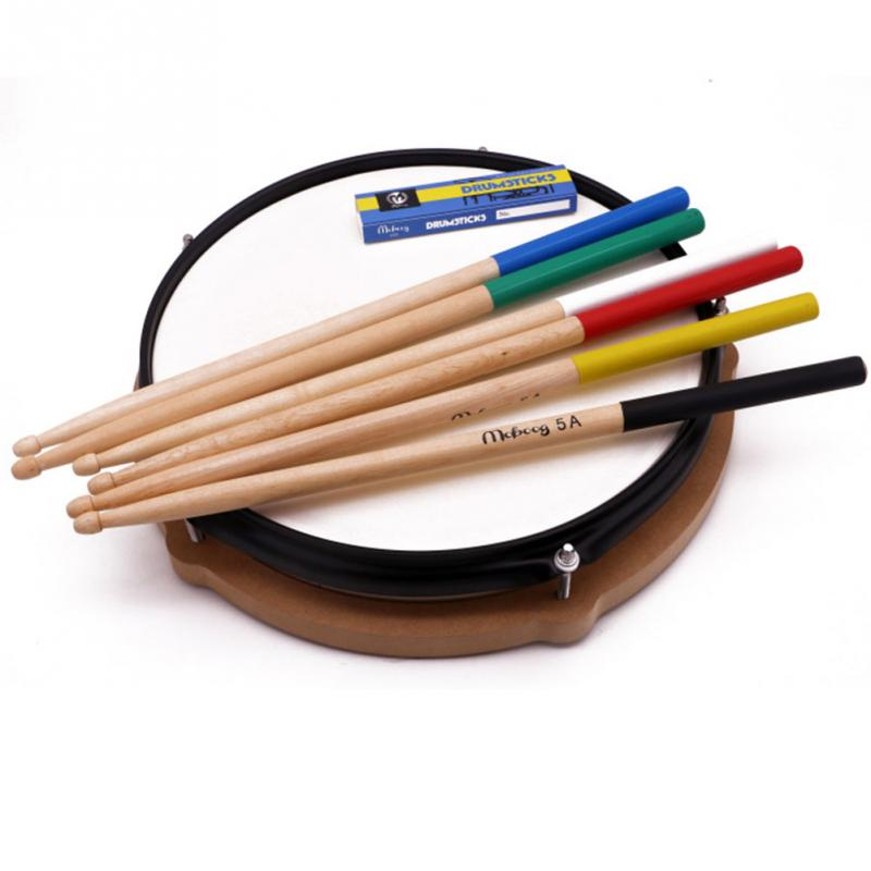 1Pair 5A 7A Maple Wood Drum Sticks  Electronic Rack Drumsticks Musical Percussion Instruments Accessories
