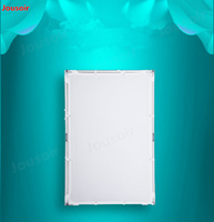 Canopy butterfly frame silvery white reflector folding flexible screen 1m*1.5m CD50 T07