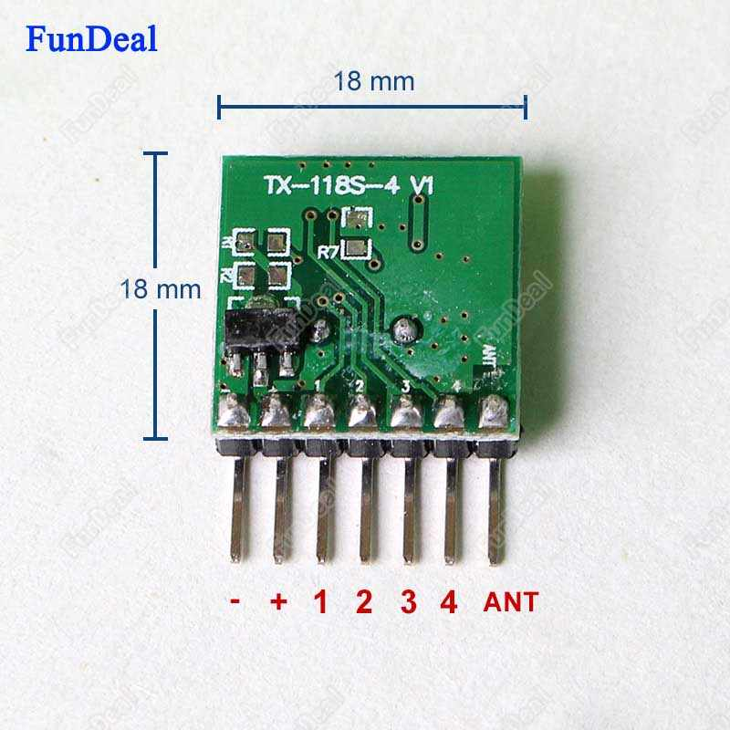 433mhz Mini Wireless RF Remote Control EV1527 Learning code 433 92Mhz  Transmitter For Gate Garage Doorbell Alarm Arduino/ARM DIY
