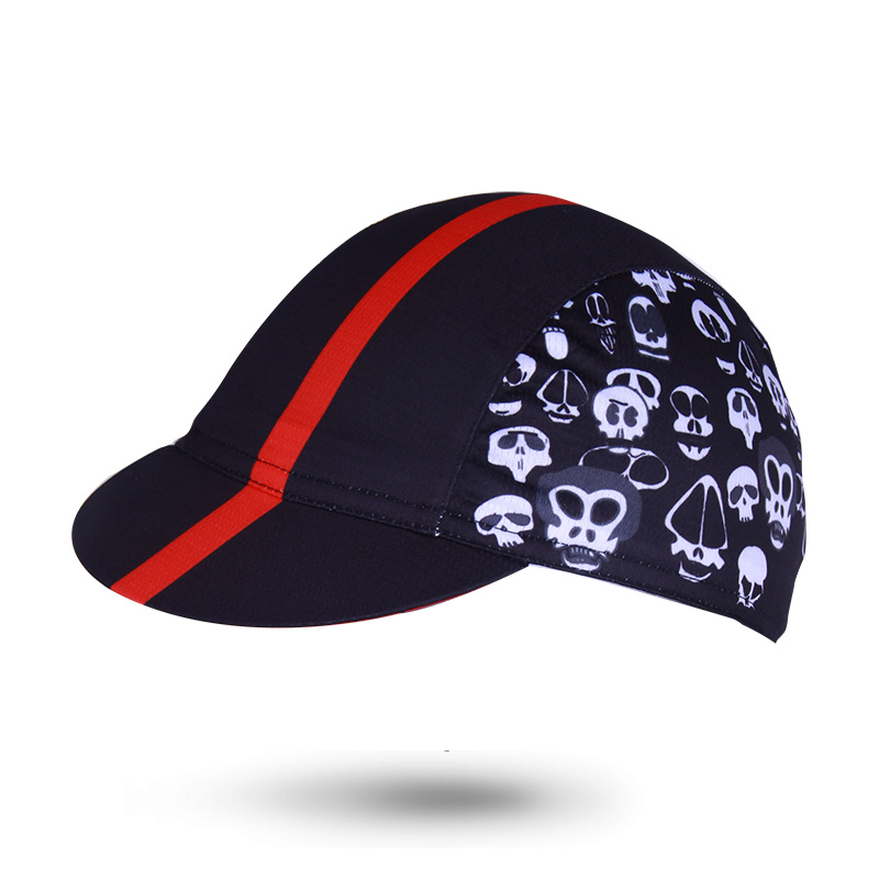 Genuine Meikrooskull cyclist red Cap coolmax Cycling Pirate headband TRAINING CAP gorras ciclismo bicicleta