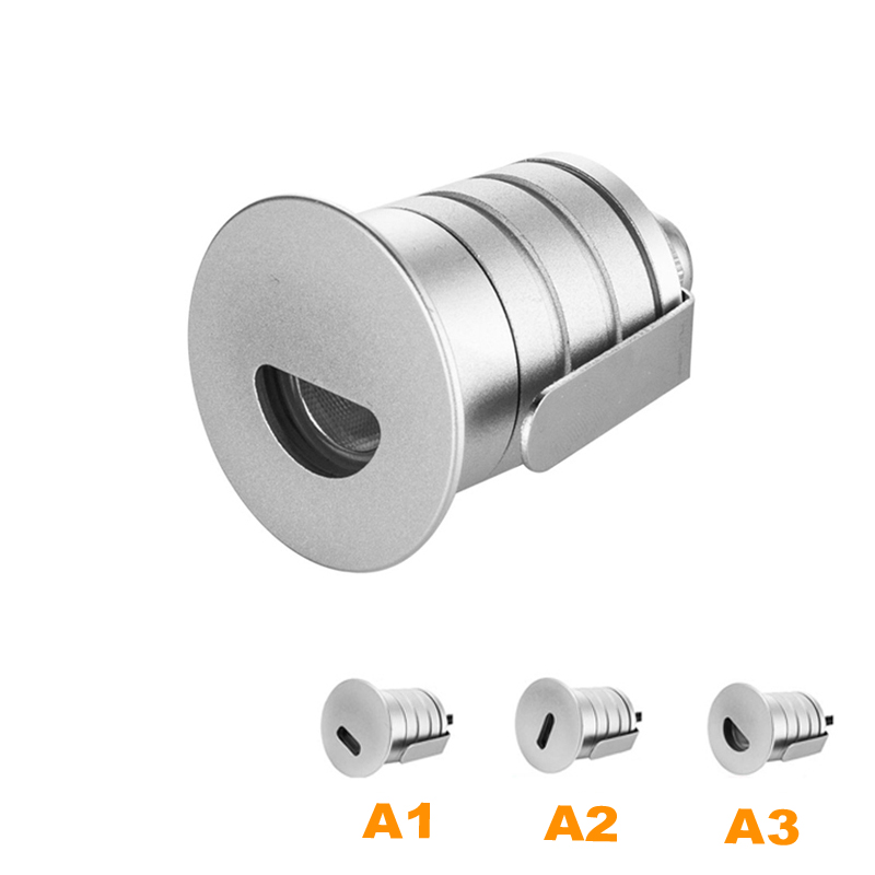 Lights & Lighting The Cheapest Price 12pcs/lot Ip67 1w Dc12v Led Spot Light For Bathroom Outdoor Stairway Garden Lawn Waterproof Underground Buried Footlight Lamps Clear-Cut Texture