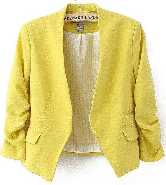 2018 New Fashion Women Blazer and jackets Spring Slim jacket Blazer women suit Jackets blazer feminino veste femme blazer 5