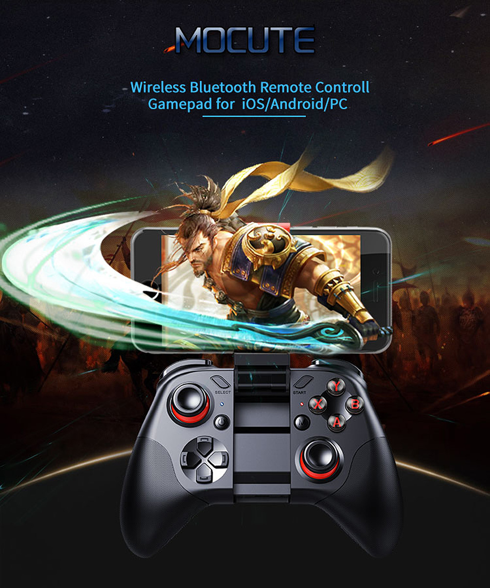 Mocute 054 053 050 Bluetooth Joypad Gamepad Android Joystick Wireless  Controller Tablet Smart VR TV Game Pad for iOS PC Android