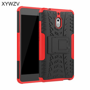 Image 1 - For Nokia 2.1 Case Shockproof Case Armor Soft Silicone Hard PC Phone Case For Nokia 2.1 Back Cover For Nokia 2.1 Holder Fundas