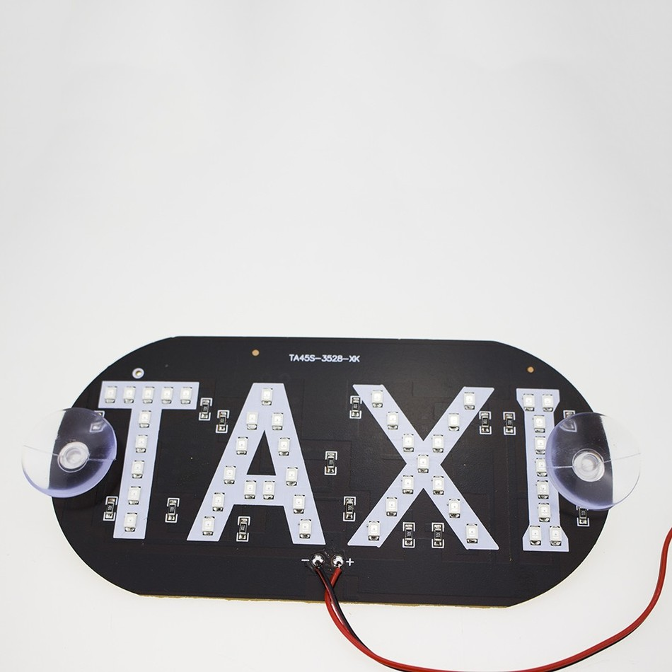 Taxi Car LED Windscreen Cab Indicator Sign Lamp at stkcar.com