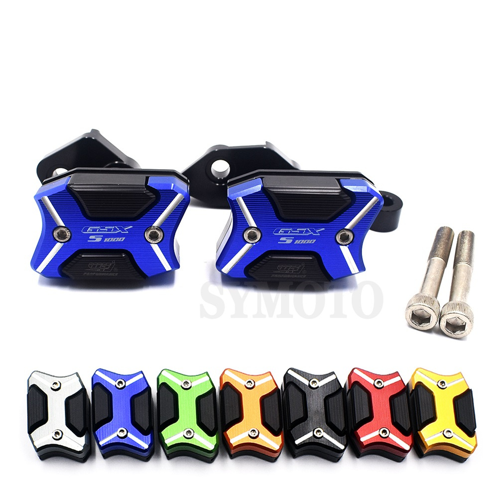 Motorcycle Frame Sliders Crash Protector Motobike Falling Protection For Suzuki GSXS1000 GSXS GSX-S 1000 GSX-S1000 2015 2016Motorcycle Frame Sliders Crash Protector Motobike Falling Protection For Suzuki GSXS1000 GSXS GSX-S 1000 GSX-S1000 2015 2016