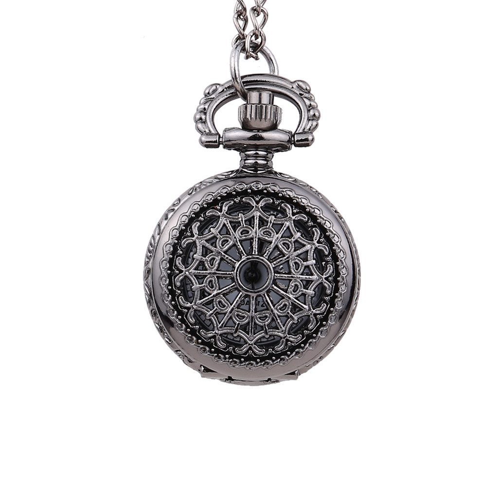 Men And Women Couple Retro Quartz Hanging Table Commemorative Table Pocket Watch Man Woman Kid Gift Necklace Clock Couple Old