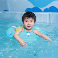 Inflatable Double Raft Floating Baby Swimming Ring 1