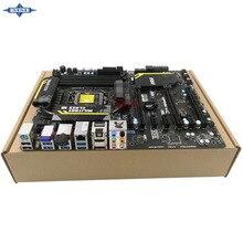 Original Usado madre De Escritorio De msi Z77 MPower Z77 apoyar LGA 1155 4 * DDR3 apoyo 32G 4 * SATA2 USB2.0 ATX