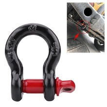 Ring-Steel Shackles Galvanized Heavy-Duty Car-Accessories Towing Recovery for Vehicle