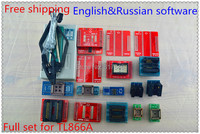 Free Shipping 2014 NEW V6 0 TL866A 20itemsPIC BIOS USB Universal Programmer TL866 MiniPro High Speed