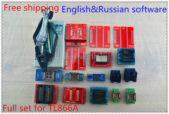 2019 V8 51 TL866II Plus+20items PIC BIOS USB Universal Programmer IC SPI  Flash NAND EEPROM MCU AVR