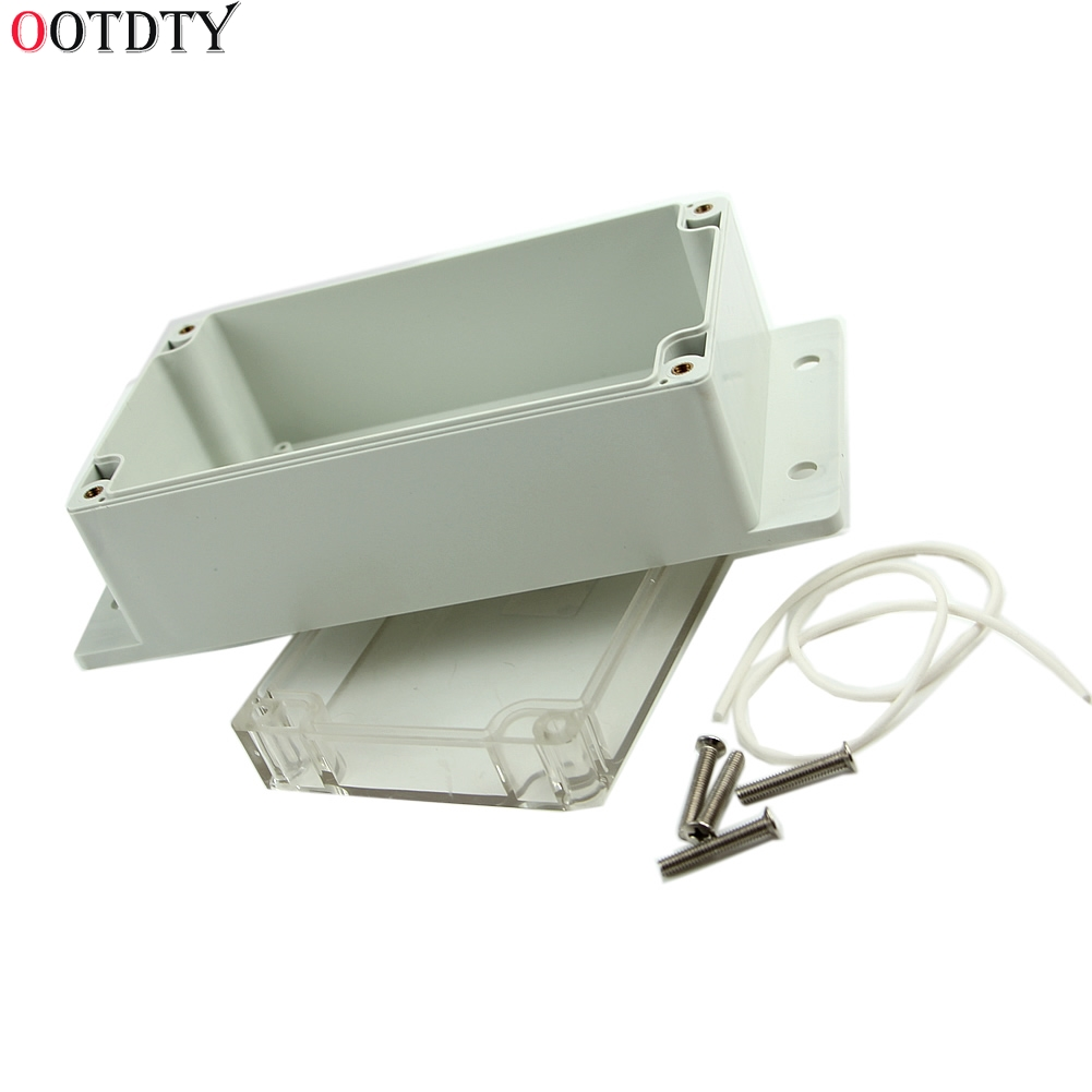 OOTDTY 2018 Fashion Waterproof 158x90x65mm Clear Plastic Electronic Project Box Enclosure Cover CASE upscale and fashion camera enclosure plastic injection mould