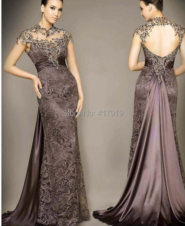 Aliexpress.com : Buy Elegant Long Evening Dresses Mother Dresses ...