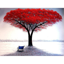 Full Square/Round drill 5D DIY Diamond embroidery Mangroves & benches  Painting Cross Stitch Rhinestone Mosaic decor H766