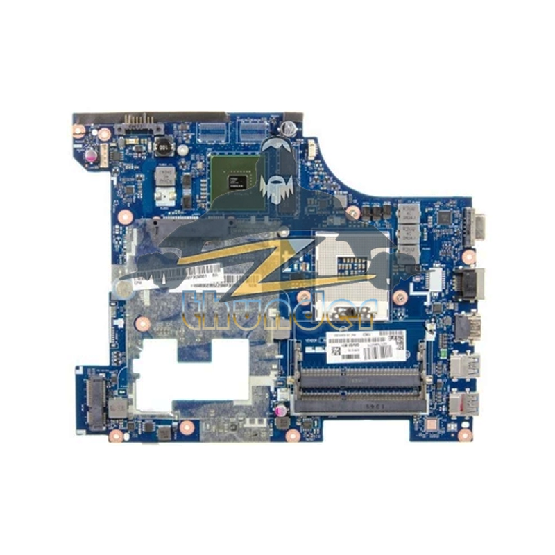 QIWG6 LA-7988P Main board For Lenovo G580 Laptop Motherboard 90002355 HM76 DDR3 GT710M Video Card