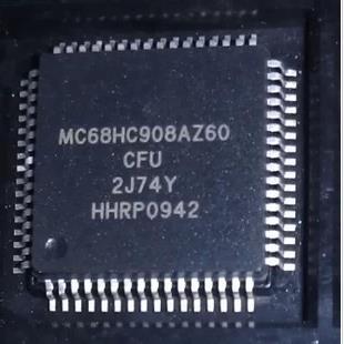 2pcs/lot 100% New MC68HC908AZ60CFU 2J74Y MC68HC908AZ60 QFP-64 Chipset2pcs/lot 100% New MC68HC908AZ60CFU 2J74Y MC68HC908AZ60 QFP-64 Chipset