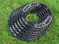 DECKAS Bicycle Chainwheel BCD 104mm 40/42/44/46/48/50/52T MTB Mountain Bicycle Chainwheel Bike Crankset Aluminum Chainring