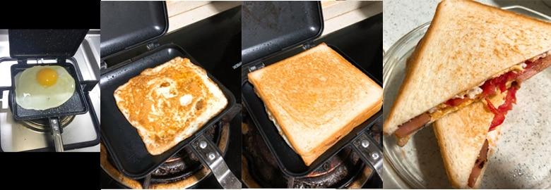 DMWD антипригарная сэндвич выпечка сковородка для омлета хлеб тост формы для выпечки для завтрака руководство вафли блинчики выпечка Барбекю Сковорода гриль