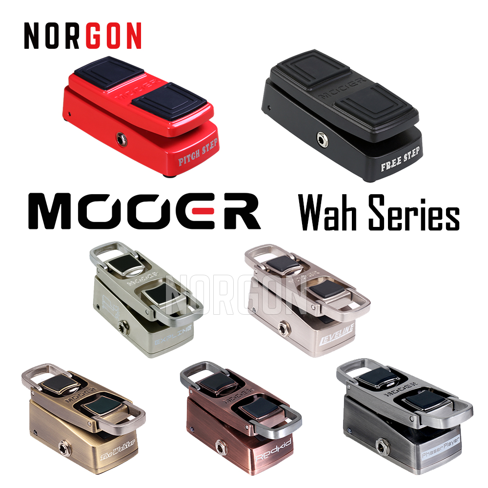 Mooer Pitch Step Pitch Shifter Wah Volume Electric Guitar Effects Pedal Whammy Shifting Pedal Steel Bends