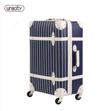 Fashion luggage inches girl trolley case PP students lovely Travel waterproof luggage rolling suitcase extension Boarding