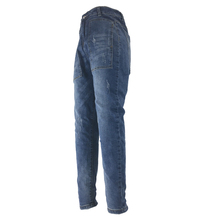 Women Straight Jean Pants High Waisted Jeans Washed Denim Lady