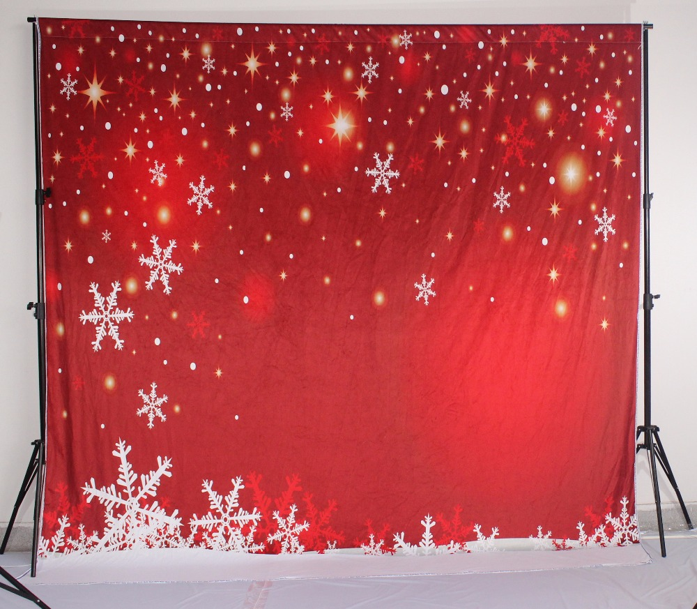 Kate Red Christmas Photography Backdrop White Snowflake Background Photography For Wedding Forchildren Photo Studio kate christmas backdrop photography brick wall white bear tree box background white floor for children photo studio background