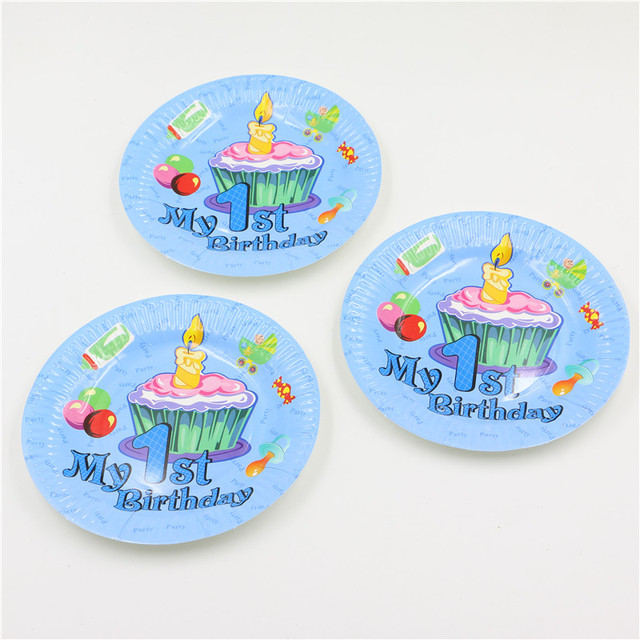 10pcs\lot My 1st birthday party theme Cartoon Baby Shower Dishes Birthday Party Paper Plates  sc 1 st  AliExpress.com & 10pcs\lot My 1st birthday party theme Cartoon Baby Shower Dishes ...