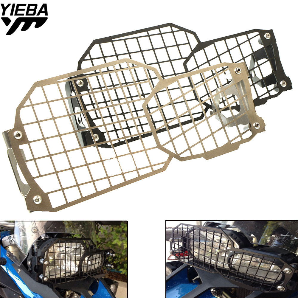 2018 New Motorcycle Headlight Head light Grill Guard Cover Protector For BMW F800GS F700GS F650GS Twin 2008 2017 2016 2015 2014 in Covers Ornamental Mouldings from Automobiles Motorcycles