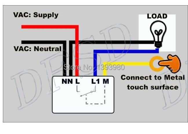 touch light control wiring diagram touch light switch touch and glow photoelectric switch wiring diagram touch dimmer switch wiring diagram