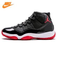 the best attitude 6e4df d22a7 Nike Air Jordan XI criado AJ11 Joe 11 Baloncesto de los hombres, negro  rojo, absorción de choque antideslizante resistencia al d.
