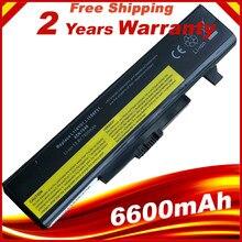 Аккумулятор для ноутбука LENOVO G580 Z380 Z380AM Y480 G480 V480 Y580 G580AM L11S6Y01 L11L6Y01, 6600 мАч, 9 ячеек