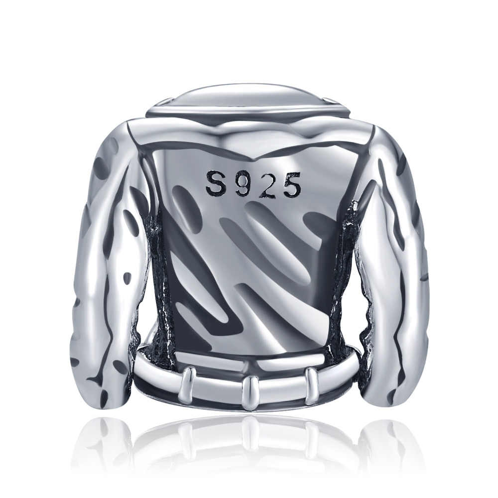 JewelryPalace 925 סטרלינג כסף מעיל חרוזים קסמי כסף 925 מקורי Fit צמיד כסף 925 מקורי תכשיטי עבור נשים