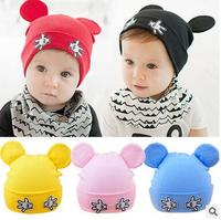 New Arrival Baby Hat 1 24months Baby Beanies Boy Girl Ears Hat Cute Baby Cap Wholesale