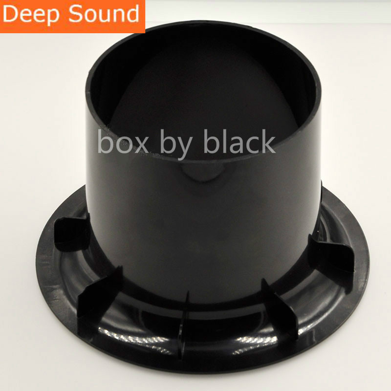 wholesale 10pcs lot 144x101mm Subwoofer Woofer Speaker Port Tube Bass Reflex Tube Speaker Vent New