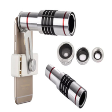 Mobile phone camera telescope 18 times luxury fisheye lens for iPhone 5 5S 6 7 Samsung Galaxy s7dege LG  Sony BlackBerry
