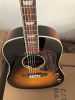 2019 new + factory + sunset color explosion model Chibson J160 acoustic guitar+Original piakup+ free shipping